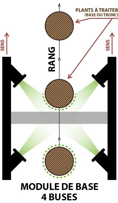 Module 4 buses Hylonox - Lutte hylobe